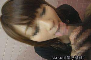【個人撮影】美人すぎる人妻27才のフェラ【口内発射】