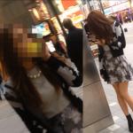 ◆撮ってるんですか?◆ 超美人ギャルに接着〇撮バレました。。。